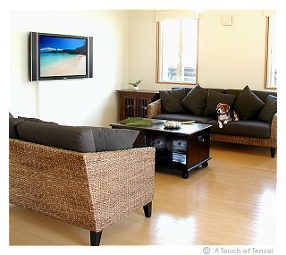 (Interior Design ::: Kitakyushu) ::: Modern Ethnic Balinese Living Room
