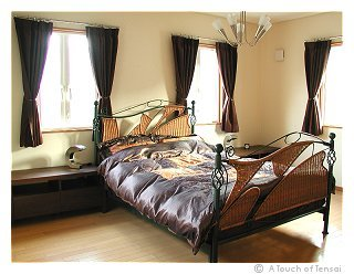 (Bedroom design ::: Fukuoka) ::: Cream & Brown Bedroom