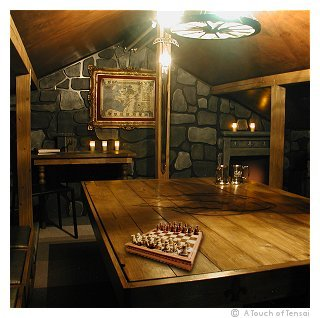 Medieval Games Room Loft Conversion Interior Design
