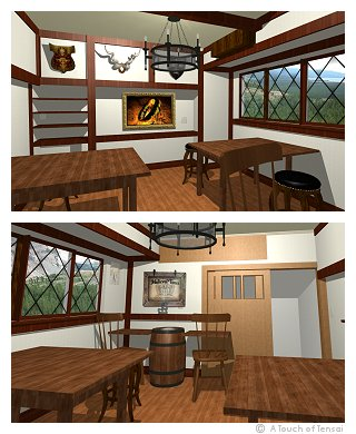 (Interior Design ::: Beppu) ::: Ringtail Medieval Event Room