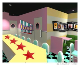 (Shop & Bar Design ::: Kitakyushu) ::: Round 5 Fifties Movie Theme Bar