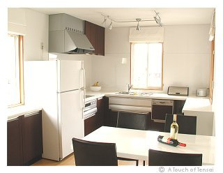 (Interior Design ::: Kitakyushu) ::: Monochrome Kitchen