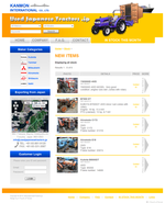 Kanmon International Exporter Website  (Web Design ::: Moji)