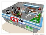 GT Cafe Motorsports Coffee Shop  (Cafe Design ::: Saudi Arabia)