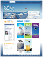 MadWax Snow Wax Website  (Web Design ::: New Zealand)