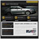 C&C Japan Car Exports Website  (Web Design ::: Kitakyushu)
