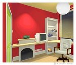 Teenage Bedroom  (Interior Design ::: UK)