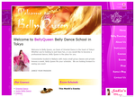 BellyQueen Belly Dance School Website  (Web Design ::: Tokyo)